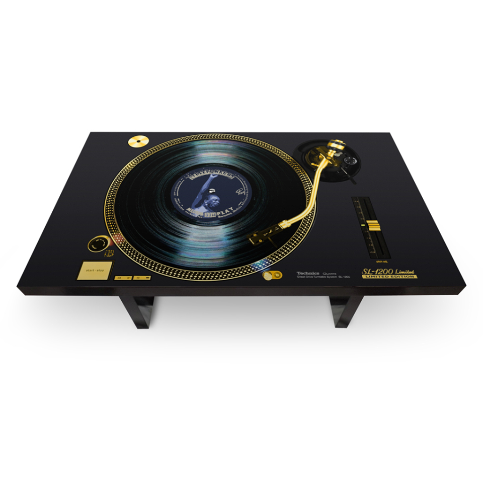 TURN TABLE GOLD LIMITED EDITION